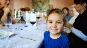 Bambini maleducati al ristorante