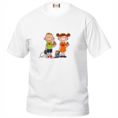 Bimbi Educati t-shirt soggetto disegno