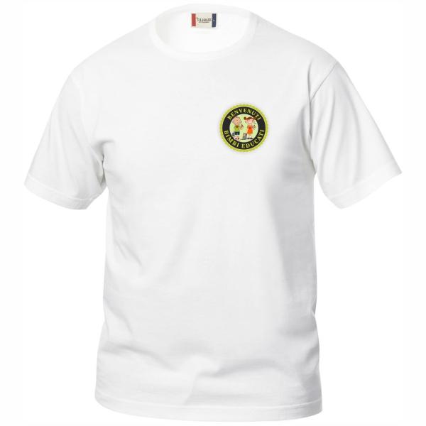 Bimbi Educati t-shirt soggetto logo piccolo